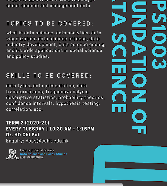DSPS1003 Foundation of Data Science